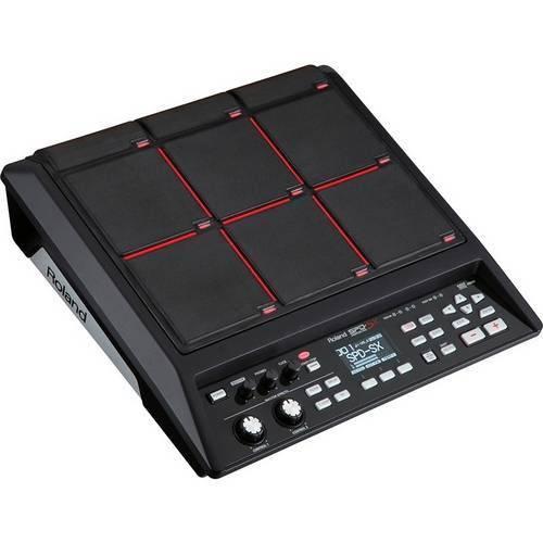 Bateria Eletronica Roland Spd Sx Sampling Pad de Efeitos