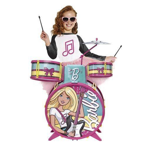 Bateria Infantil Barbie Glamourosa - Fun