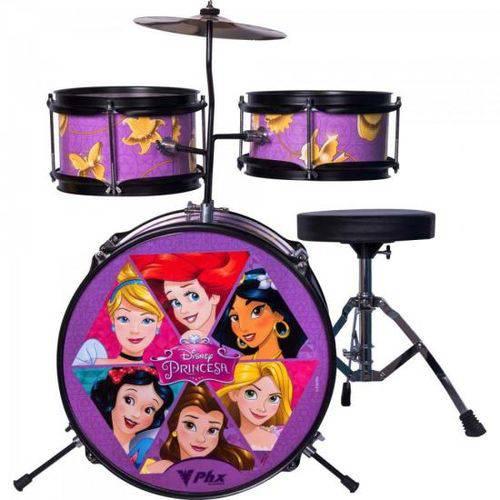 Bateria Infantil Disney Princesas Bid-p1 Rosa Phx