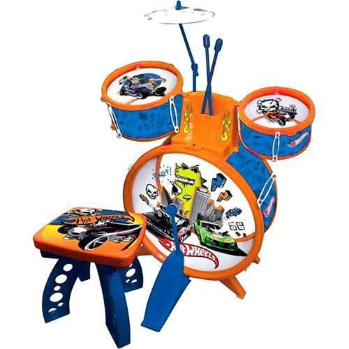 Bateria Infantil Hot Wheels