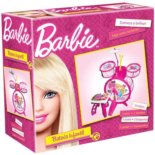 Bateria Luxo Infantil Barbie - Monte Líbano