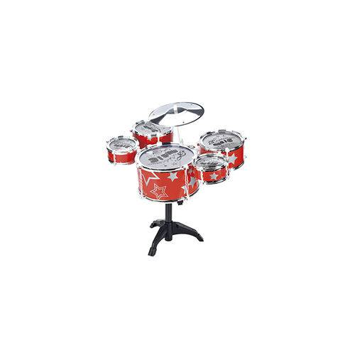 Bateria Musical Vermelha Fênix BT381