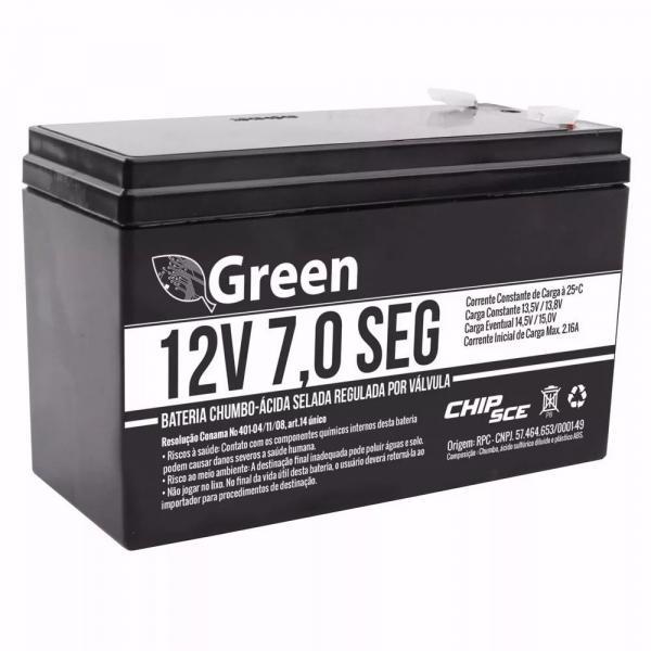 Bateria Selada 12v 07 Ah Green
