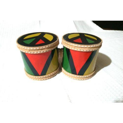 Bongô Simples de Fibra - M