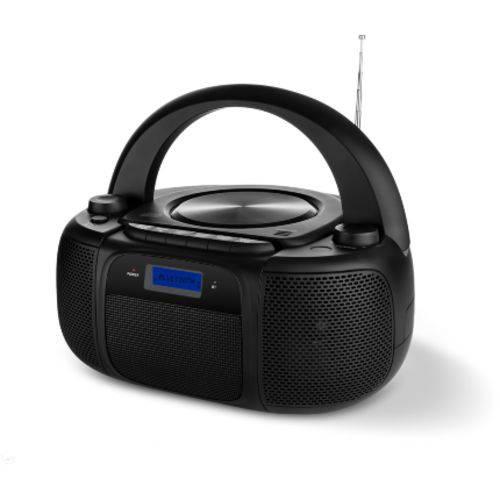 Boombox com Bluetooth Fm e Cd 25w Rms Preto Multilaser - Sp244