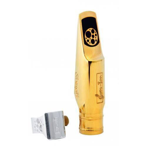 Boquilha Ever-Ton Sax Alto Strenght Metal Gold 7