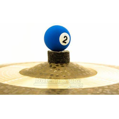 Borboleta Tribal Percussion Bola de Sinuca Nº 02 Azul para Estantes de Prato 8mm Kit com 1 Unidade
