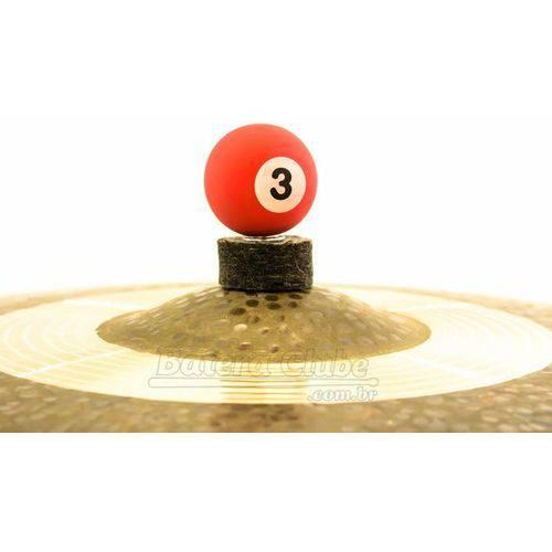 Borboleta Tribal Percussion Bola de Sinuca Nº 03 Vermelha para Estantes Prato 8mm Kit C/ 1 Unidade