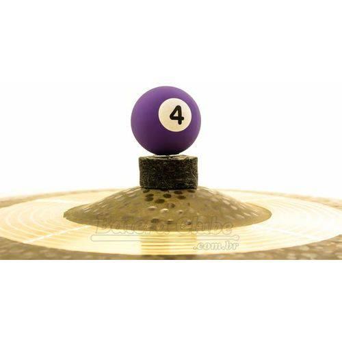 Borboleta Tribal Percussion Bola de Sinuca Nº 04 Roxa para Estantes de Prato 8mm Kit com 1 Unidade