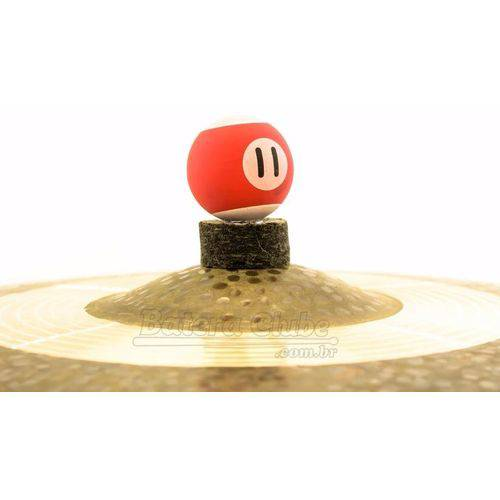 Borboleta Tribal Percussion Bola de Sinuca Nº 11 Vermelha P/ Estantes de Prato 8mm Kit C/ 1 Unidade