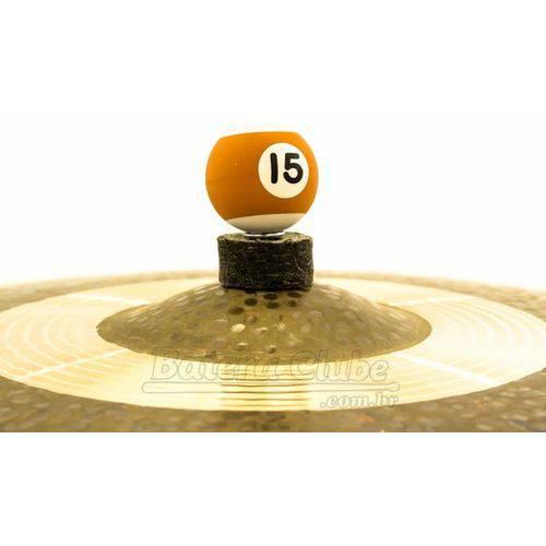 Borboleta Tribal Percussion Bola de Sinuca Nº 15 Marrom para Estantes de Prato 8mm Kit C/ 1 Unidade