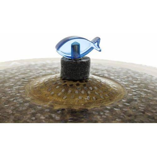 Borboleta Tribal Percussion Peixe Azul para Estantes de Prato 8mm Kit com 2 Unidades