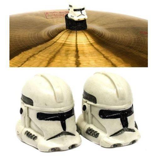 Borboleta Tribal Percussion Stormtrooper Star Wars para Estantes de Prato 8mm Kit com 2 Unidades