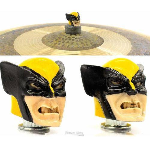 Borboleta Tribal Percussion Wolverine X-men para Estantes de Prato 8mm Kit com 2 Unidades