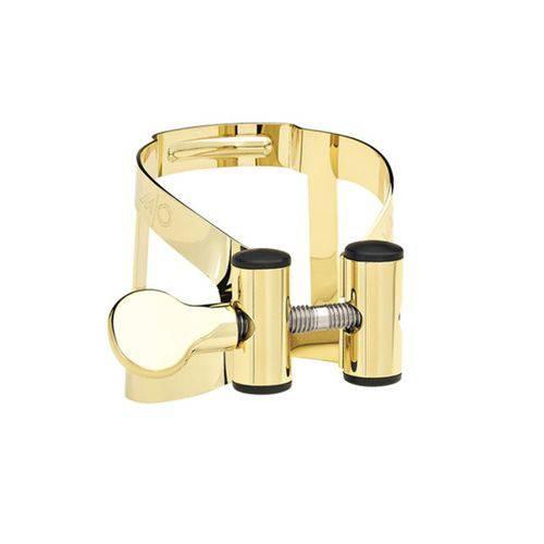 Bracadeira Vandoren M/o para Sax Alto Dourada com Cobre Boquilha Plastica