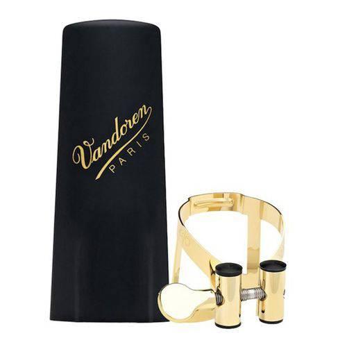 Bracadeira Vandoren M/o para Sax Tenor Dourada com Cobre Boquilha de Plastico