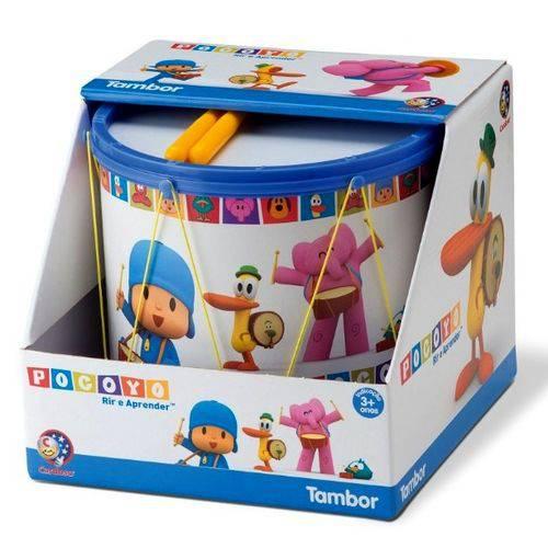 Brinquedo Infantil Tambor Turma do Pocoyo Azul - Cardoso