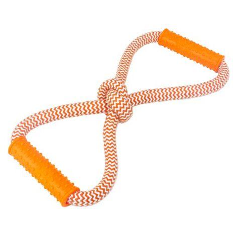 Brinquedo Interativo para Cães-Puxador Laço Duplo - Trixie