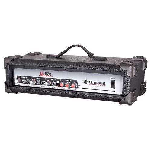 Cabeçote Amplificado Multiuso Ll Audio Ll160 Bt 35 Wrms