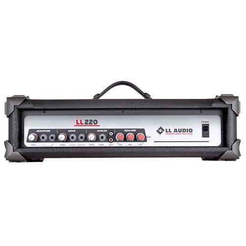Cabeçote Amplificador 3 Canais 50W Rms Ll220 LL Áudio