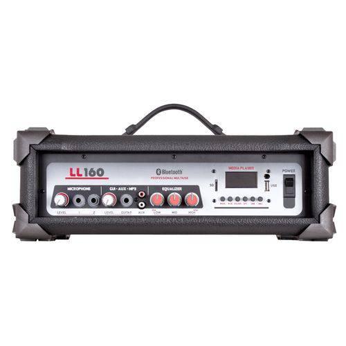 Cabeçote Amplificador 2 Canais 35W Rms USB Ll160 Ll Áudio