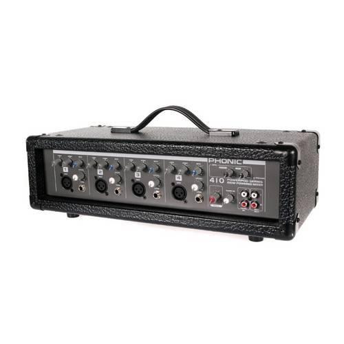 Cabeçote Mixer Amplificado Phonic Powerpod 410