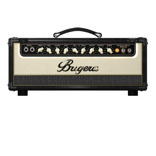 Cabeçote para Guitarra Bugera V22hd Infinium 110v com 3 Válvulas 12 Ax7 e 2 Canais