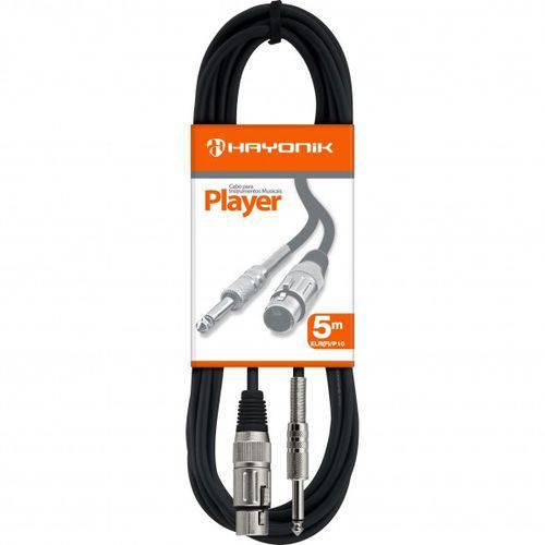 Cabo Guitarra Player P10 X P10 5M Hayonik Pt