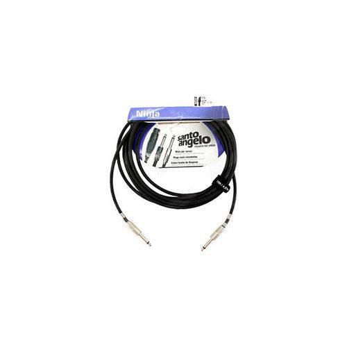 Cabo Guitarra Santo Angelo 0,20MM P10NINJA Ninja Cable 15FT/4.57M (4.5.20.232.122)