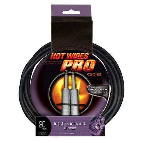 Cabo Hot Wires Ic20 6.09m P/instrumento Cabo Hot Wires Ic20 6.09m P/instrumento
