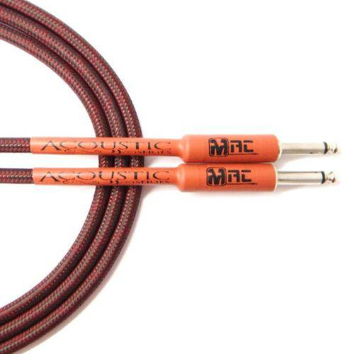 Cabo P10 para Instrumento 4.57MT Acoustic Series Textil AS15TX - Mac Cabos
