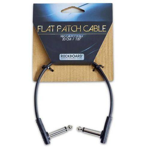 Cabo para Pedais Rockcable 20cm Flat Patch Cable P10