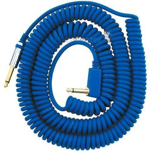 Cabo Vox Espiral Azul Vcc-90 - Bl Cabo Guitarra P10