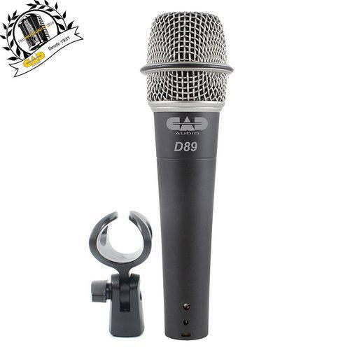 Cad Áudio - Microfone Dinâmico Supercardióide D89