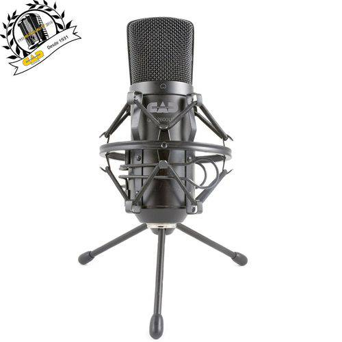 Cad Áudio - Microfone Usb Estúdio Gxl2600 Usb