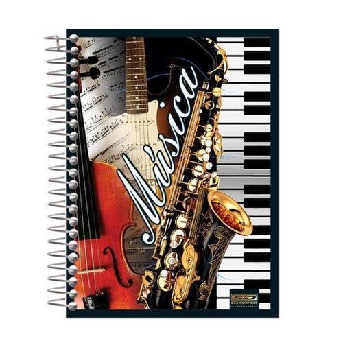 Caderno de Música SD Capa Dura 96 Folhas