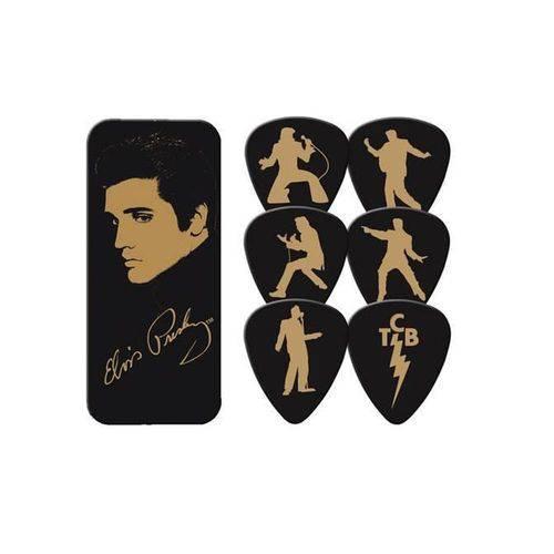 Caixa 6 Palhetas Média Elvis Presley - Dunlop