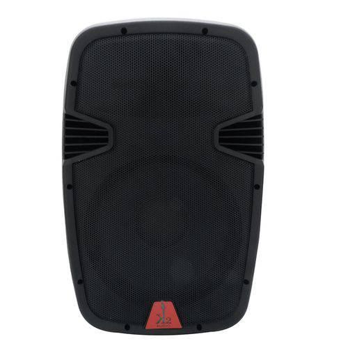 """Caixa Acústica Amplificada Ativa K2 Áudio 10"""" 240W Rms Preta Bivolt"""