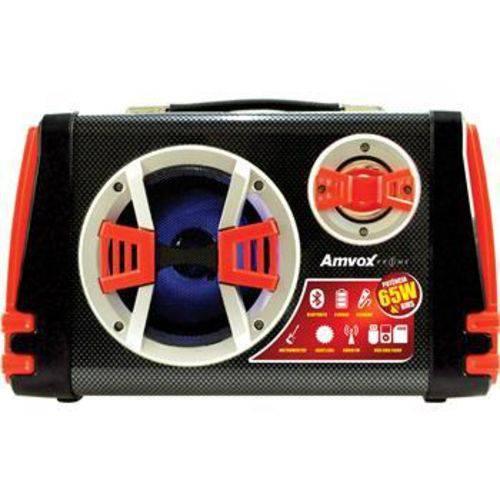 Caixa Acústica Amvox ACA110 VM Bluetooth USB Cartão SD Rádio FM – 65W