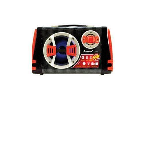 Caixa Acústica Amvox ACA110 VM, Bluetooth, USB, Rádio FM, 65W - Bivolt