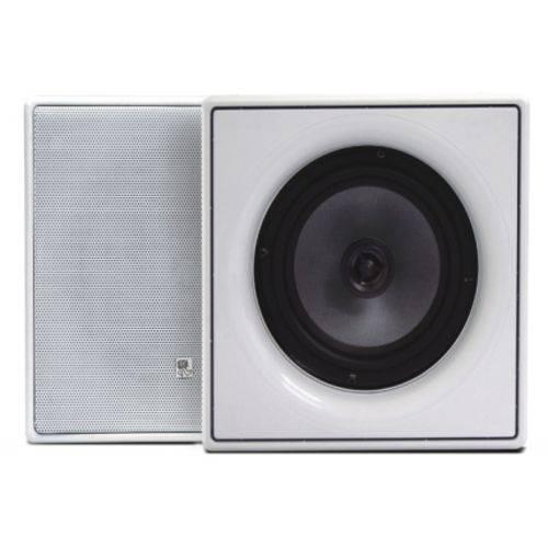 Caixa Acústica de Embutir Quadrada de 6 Polegadas em Kevlar 2 Vias K6-100-XT 100w - AMCP