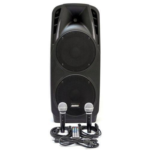 Caixa Acústica Lexsen Ls-210a Mp3 com 300w de Potência, Bluetooth e 2 Microfones