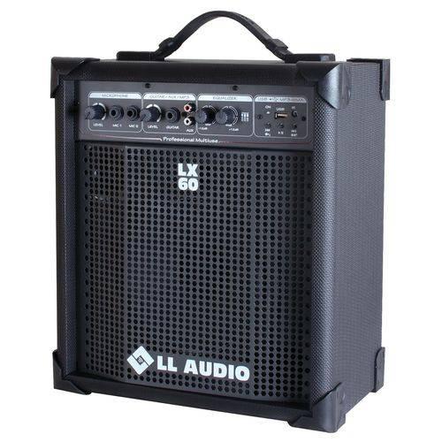 Caixa Acústica Multiuso LL Áudio LX 60 USB - 15 WATTS RMS