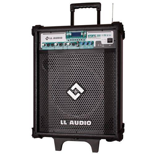 Caixa Acustica Profissional 60w Multiuso Bateria Stone250bat Ll Audio
