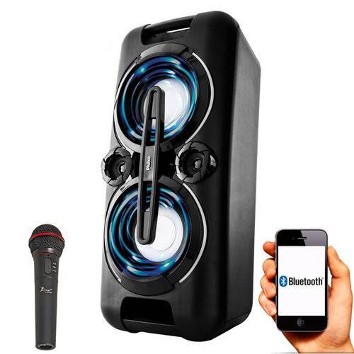Caixa Amplificada Bluetooth Pht5000 150w Rms Philco Bluetooth
