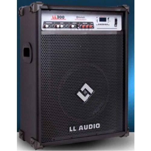CAIXA AMPLIFICADA LL300BT com USB e BLUETOOTH LL AUDIO