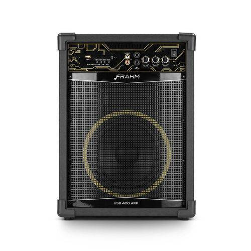 Caixa Amplificada Multiuso Frahm Usb 800 App - 150w - Bluetooth - Usb - Rádio Fm - Controle Remoto
