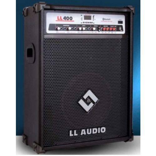 CAIXA AMPLIFICADA MULTIUSO LL400BT com USB e BLUETOOTH LL AUDIO