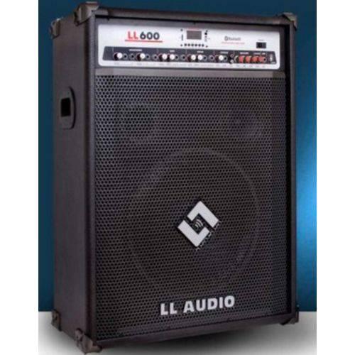CAIXA AMPLIFICADA MULTIUSO LL600BT com USB e BLUETOOH LL AUDIO