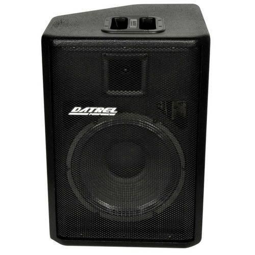 "Caixa Ativa 12"" 250 Watts Bluetooth /USB /fm Titanium - Datrel"